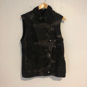 Wilfred Free Moto Sleeveless Jacket